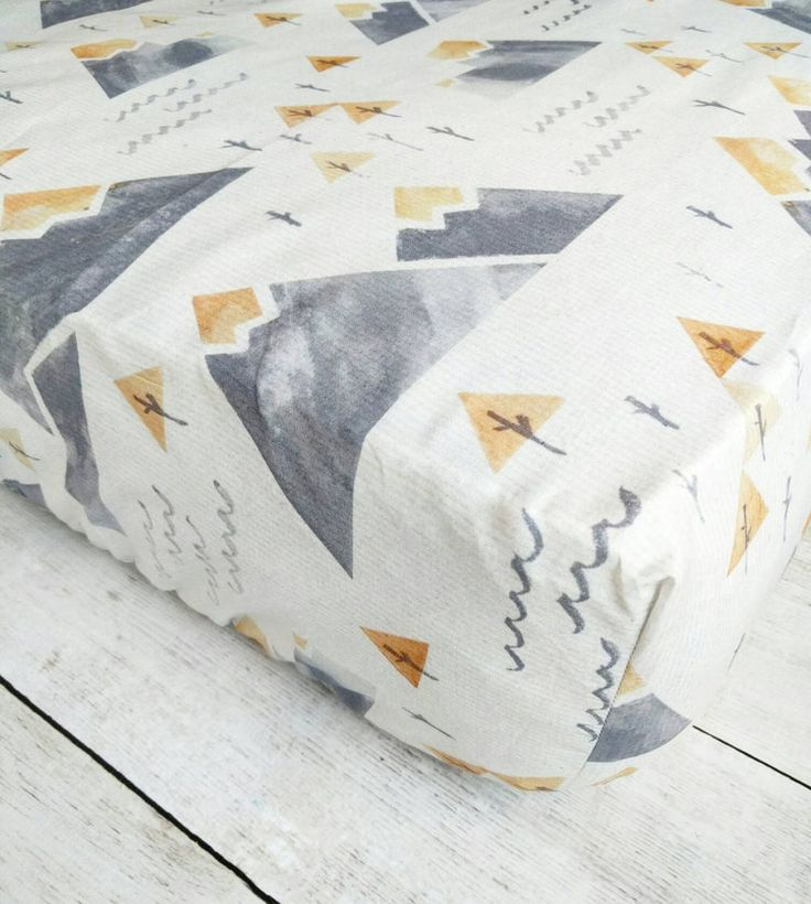 Mountain Fitted Crib Sheet for Child Boy Nursery Woodland Fitted - http://babyfur.net/mountain-fitted-crib-sheet-for-baby-boy-nursery-woodland-fitted/