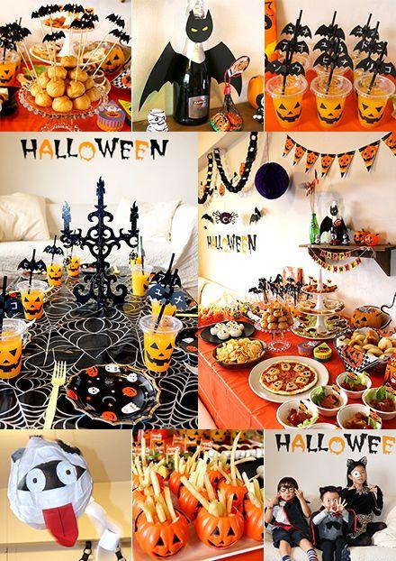ハロウィンのキッズパーティー演出 子供の誕生日会・キッズパーティーの飾り付けアイデア                                                                                                                                                                                 もっと見る