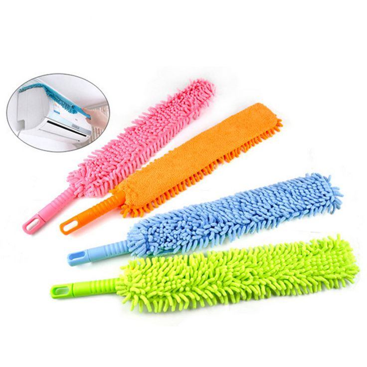 Wholesale Cleaning Duster, Icarekit, Flexible Soft Microfiber Cleaning Duster Magic Dust Cleaner Handle 460498