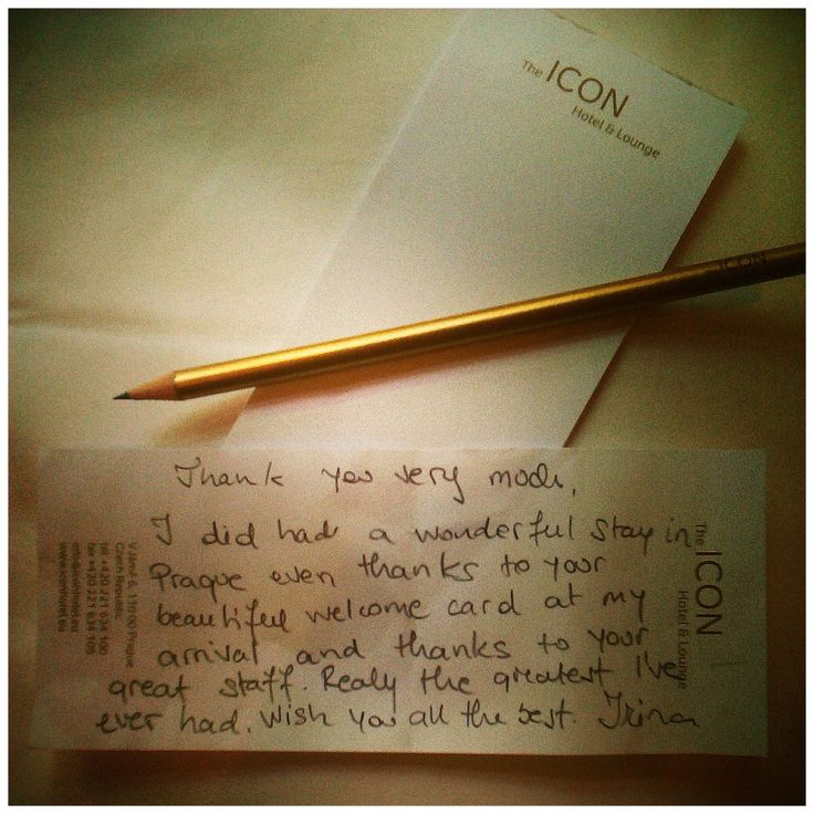 We got this lovely message from our dear guest Irina <3 Take good care of you and see you in The ICON soon again! #iconhotelprague