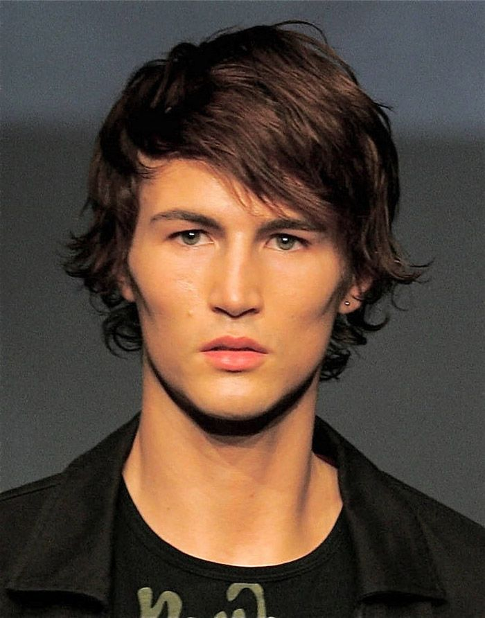 Fantastic 1000 Ideas About Medium Hairstyles For Men On Pinterest Medium Short Hairstyles Gunalazisus