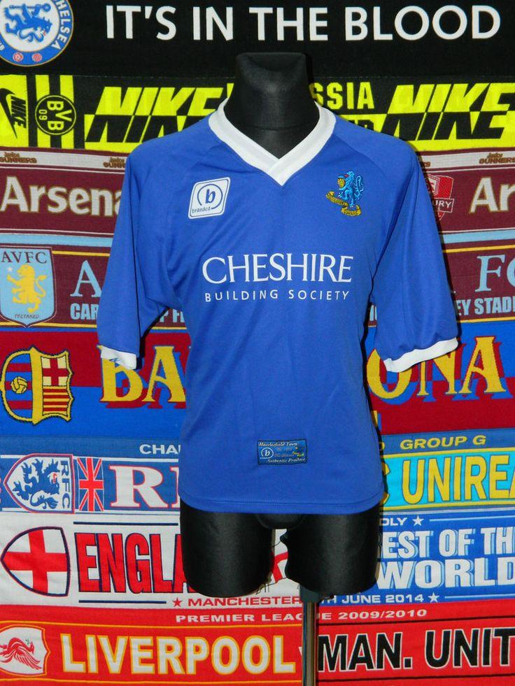 5/5 Macclesfield Town adults S 2005 rare football shirt jersey trikot