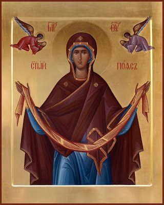 Роспись храмов, мозаика, иконопись.: Икона Святой Пояс