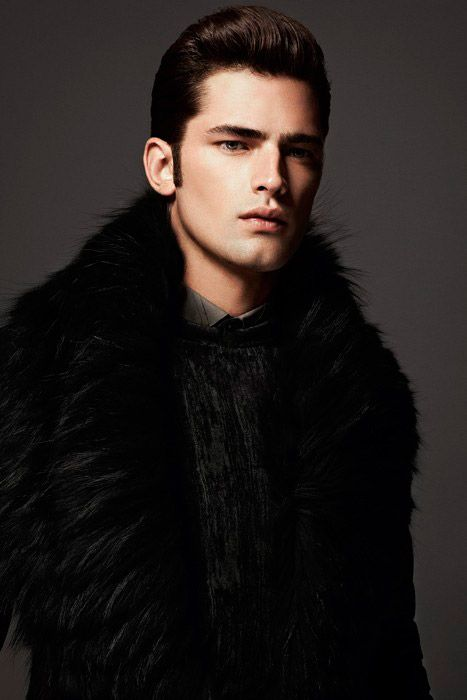 Sean O'Pry shot by Anthony Meyer and styled by Philippe Uter for the cover story of Apollo Novo #3.