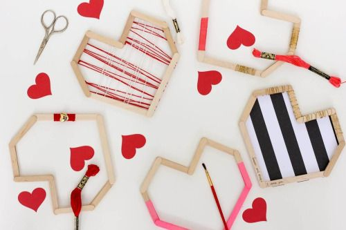 For this D.I.Y. you will need Popsicle sticks / Paint(optional) / string(optional) / and strong glue {Hot glue , e6000 , gorilla glue}. 1. Get your Popsicle sticks out and glue them together to create this heart shape. After get some tape and tape out the part that you want to paint. You can also use glue to glue to string onto the add another heart on top of the Popsicle. Or you can add the string to some sticks before you glue it all together. Or you can add pattern paper to the middle of…