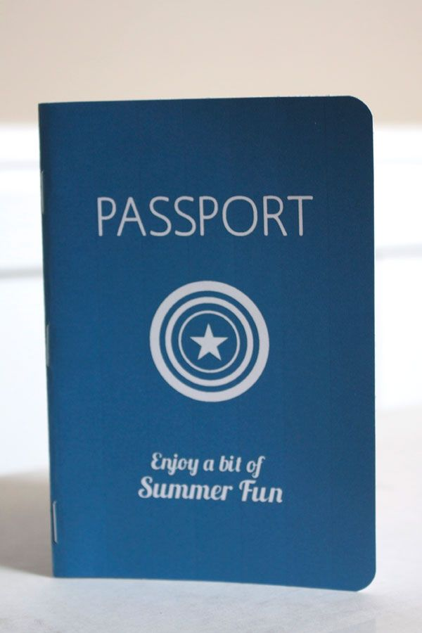 Clever - printable summer passport!  Use like a journal to keep track of what you do during those long event-filled summer months year after year.  Each year has its' own journal.