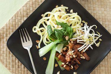 Pork with hokkien noodles
