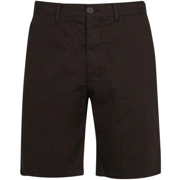 AllSaints Colbalt Short ($77) ❤ liked on Polyvore featuring men's fashion, men's clothing, men's shorts, men shorts, men's apparel, mens short shorts, mens jean shorts, mens shorts and mens clothing