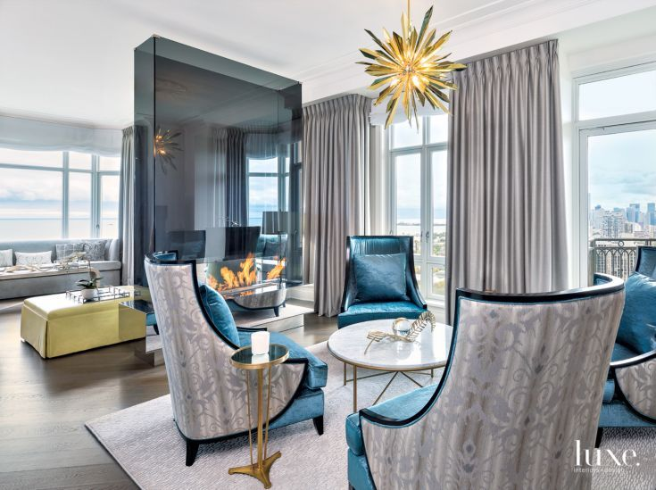 From luxe interiors design · an eclectic chicago condo with lake michigan views