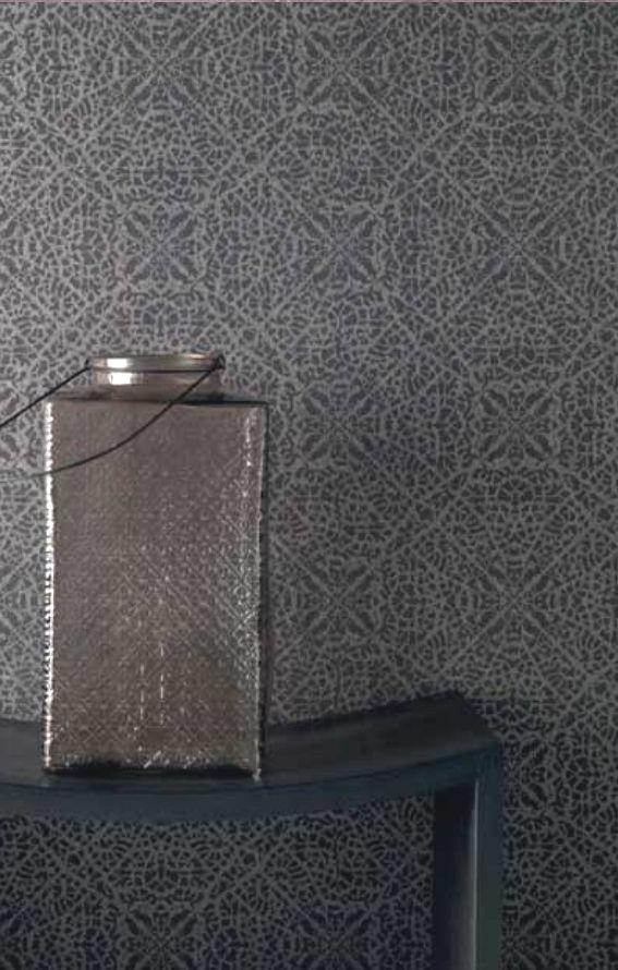 rasch textil indigo 226309 grau braun silber ornament muster vliestapete wohnzimmer schlafzimmer - Wohnzimmer Silber