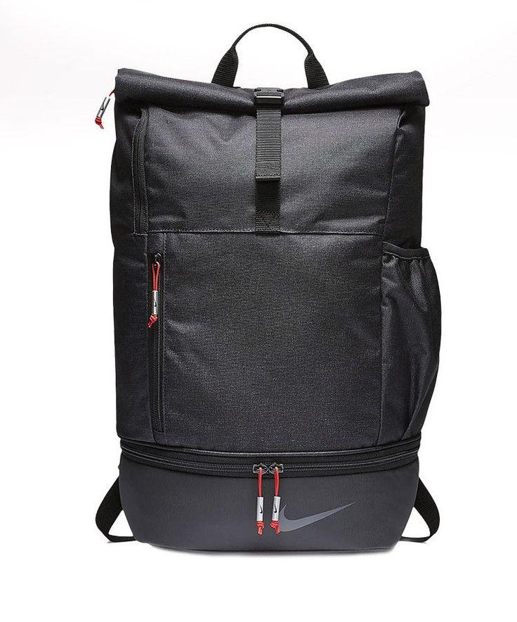 Nike Golf Modern Sports Backpack Black Red Soccer Gym 100