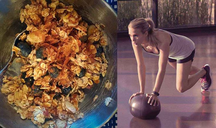 Carrie Underwood's Super Healthy Breakfast Recipe