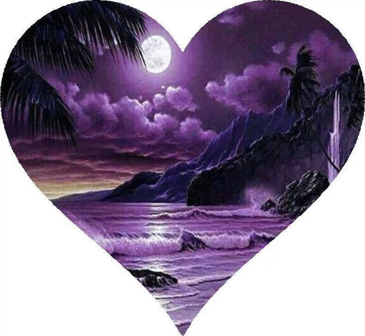 Heart of the Purple Ocean