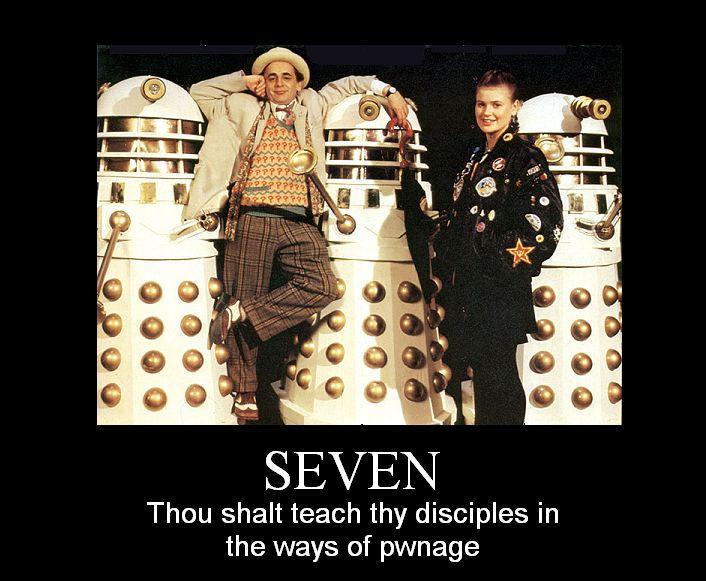 Doctor Who Cat Macros - ten motivationals, plus one#######