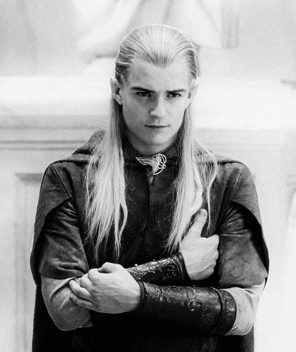 Legolas seems so calm, yet he can fights so much.......