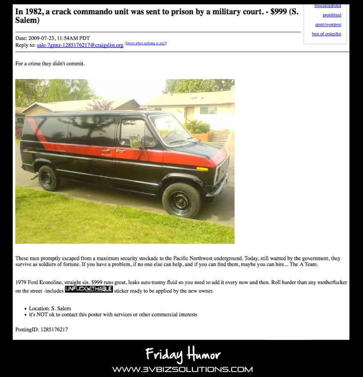 17 Craigslist Ads For Things Youd Literally Never Want