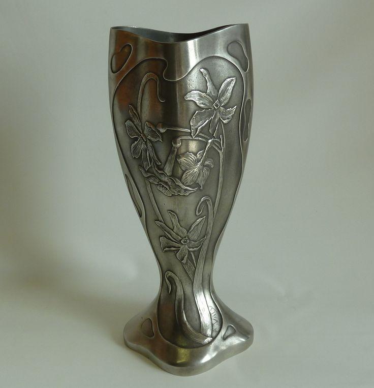 Art nouveau french  vase https://www.etsy.com/listing/244002264/art-nouveau-french-vase?ref=listings_manager_table