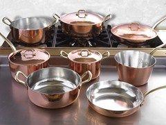 Juego de ollas de cobre Juego de ollas - Officine Gullo