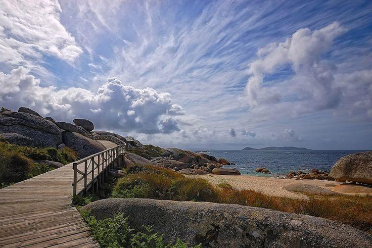 Paseo marítimo en O Grove (Pontevedra) - Ruta do Viño Rías Baixas
