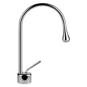 33601 - Gessi Goccia Basin Mixer With Spout R90mm - Bathroom #abeyaustralia #gessigoccia #basinmixer