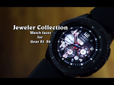 Jeweler Watch Faces Collection - Gear S3 / S2 - Andrasi.ro