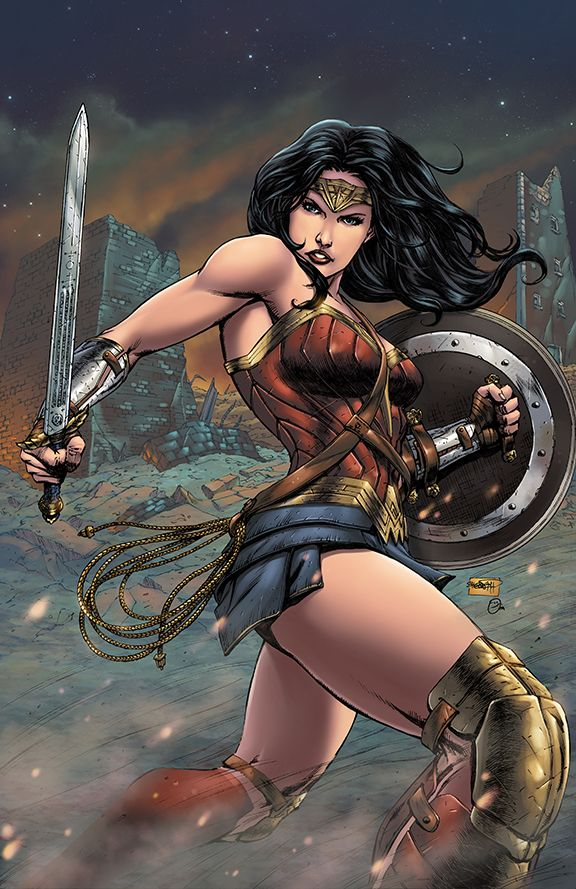 Wonder Woman... Always a little further... And with the heart of a Lion