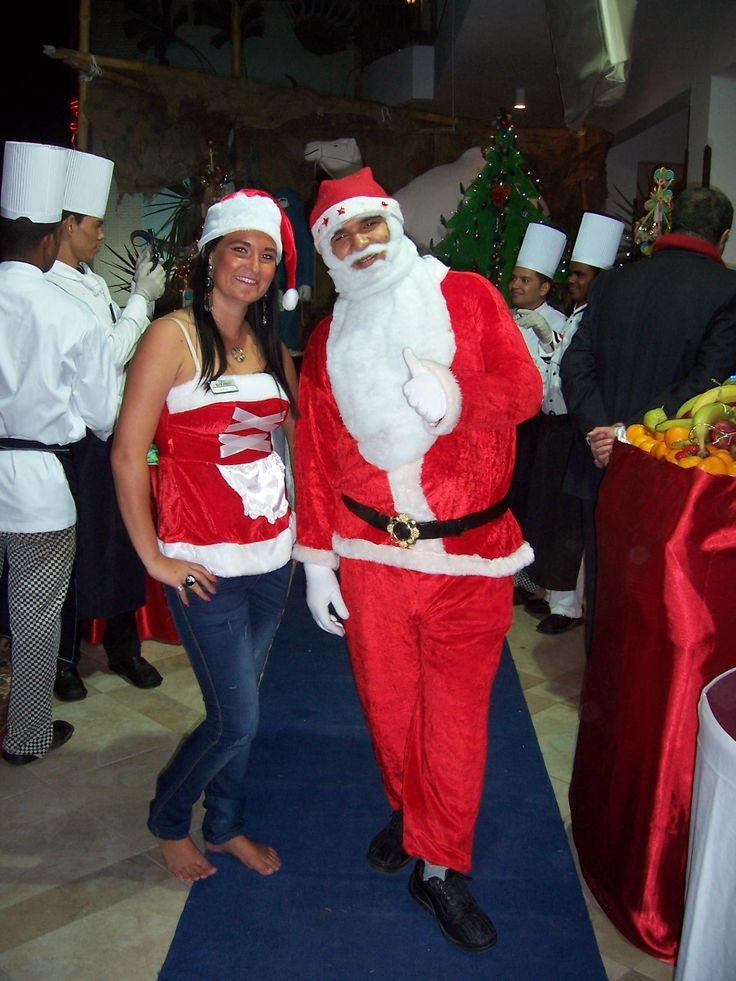 Me and Santa at work, Hurghada, Egypt