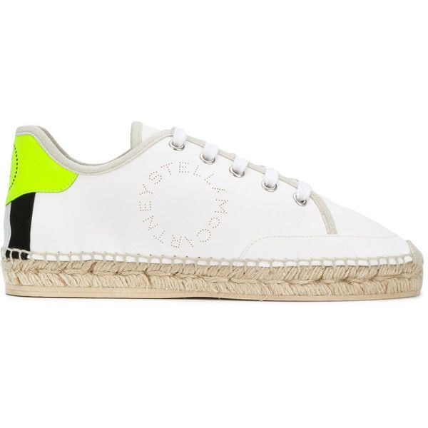 47371d338ad Stella McCartney raffia sole sneakers (€445) ❤ liked on Polyvore featuring  shoes