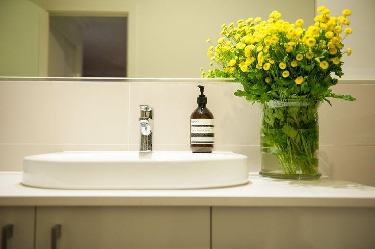 Logie Interiors Main Bathroom Design Vanity Detail