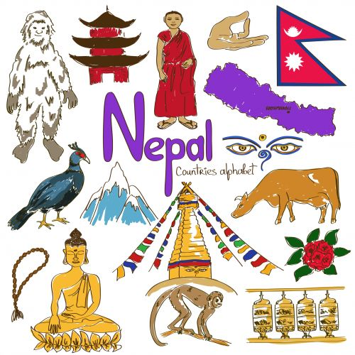 'N' is for Nepal with the alphabetical country worksheets from KidsPressMagazine! Learn more about Nepal with this fun and free download. #Nepal #AsianCountries #geography