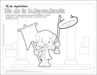 Fichas para preescolar: Cómo explicar la Independencia a los niños de preescolar