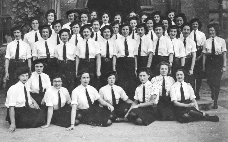 WW2 codebreakers - the final secret: Rare photo emerges of female codebreakers who worked in secret using world's first electronic computer to crack Hitler's messages during World War Two. Mrs Chorley, extreme right, and her fellow codebreakers at Bletchley Park in the photograph taken in 1945. Photo: Geoff Robinson