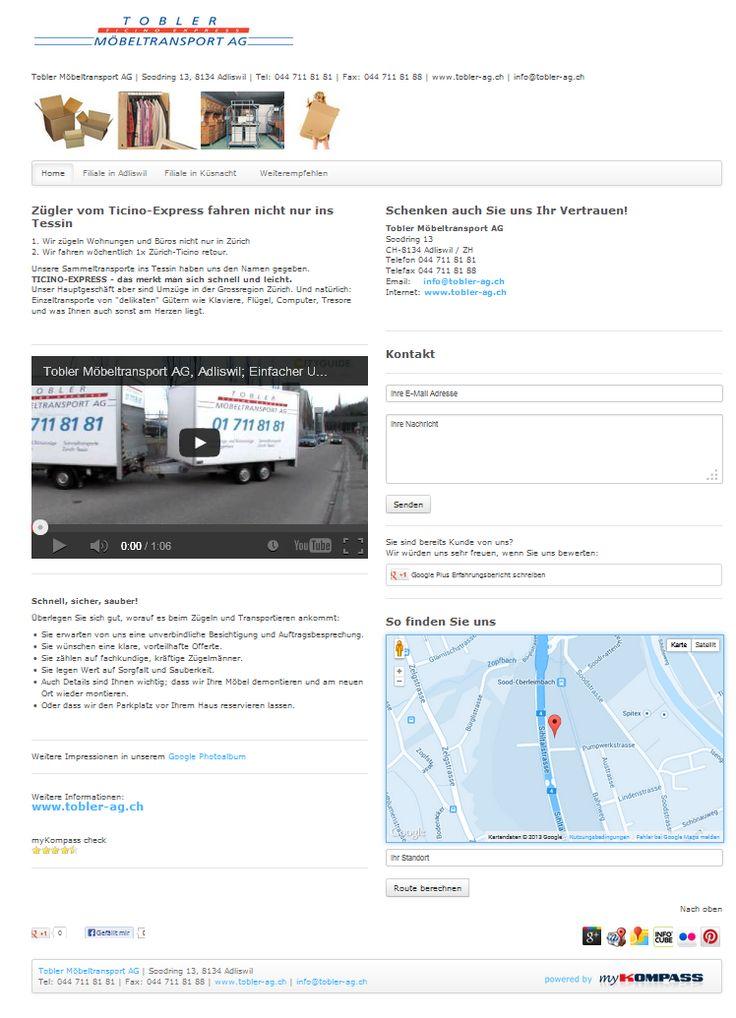 Großzügig Umzugsunternehmen Website Vorlage Galerie ...