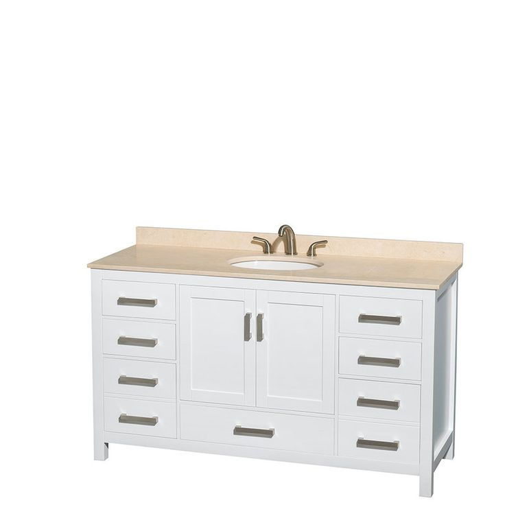 Create Photo Gallery For Website Wyndham Collection Sheffield inch Single Bathroom Vanity in White White Carrera Marble Countertop Undermount Oval Sink and Medicine Cabinet