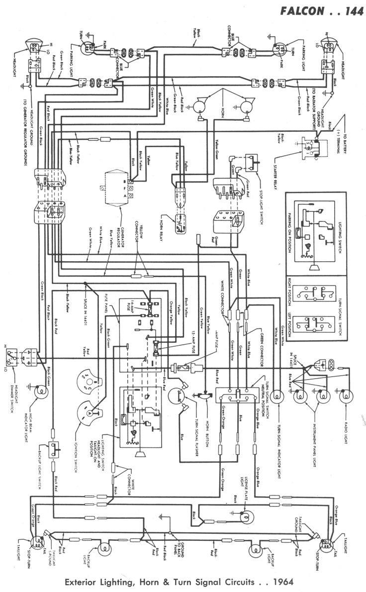New Wiring Diagram Ford Falcon Au Radio  Con Im U00e1genes