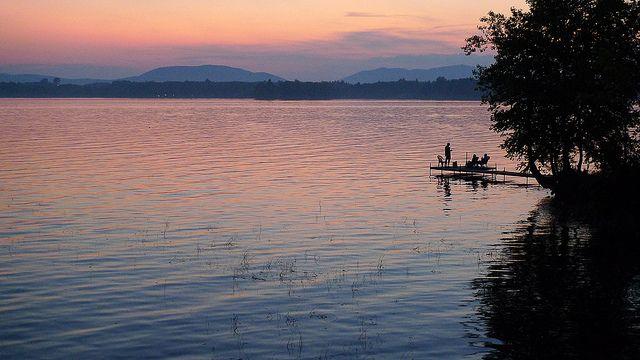 lac brome, twilight   Flickr: partage de photos!