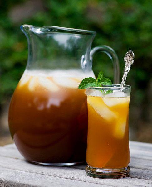 Hot enough for ya?  You need some Lemonade Mint Iced Tea!