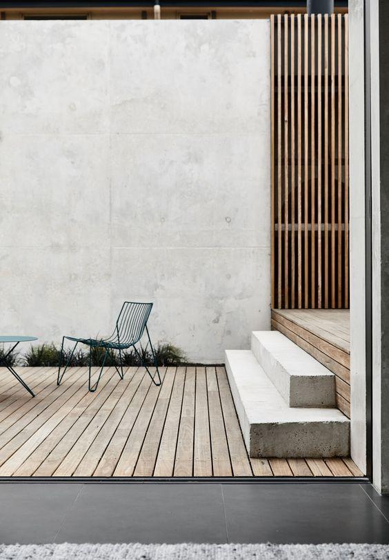 Das Prahran House von Rob Kennon Architects verwandelt einen … #WoodWorking