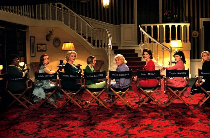 8 femmes - Fanny Ardant - Emmanuelle Béart - Danielle Darrieux - Catherine Deneuve - Virginie Ledoyen - Isabelle Huppert - Ludivine Sagnier - Firmine Richard
