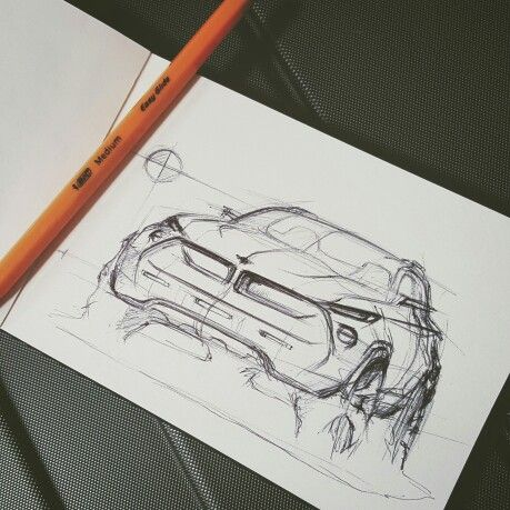Quick sketch! #cardesign #sketchdaily #sketch #bmw