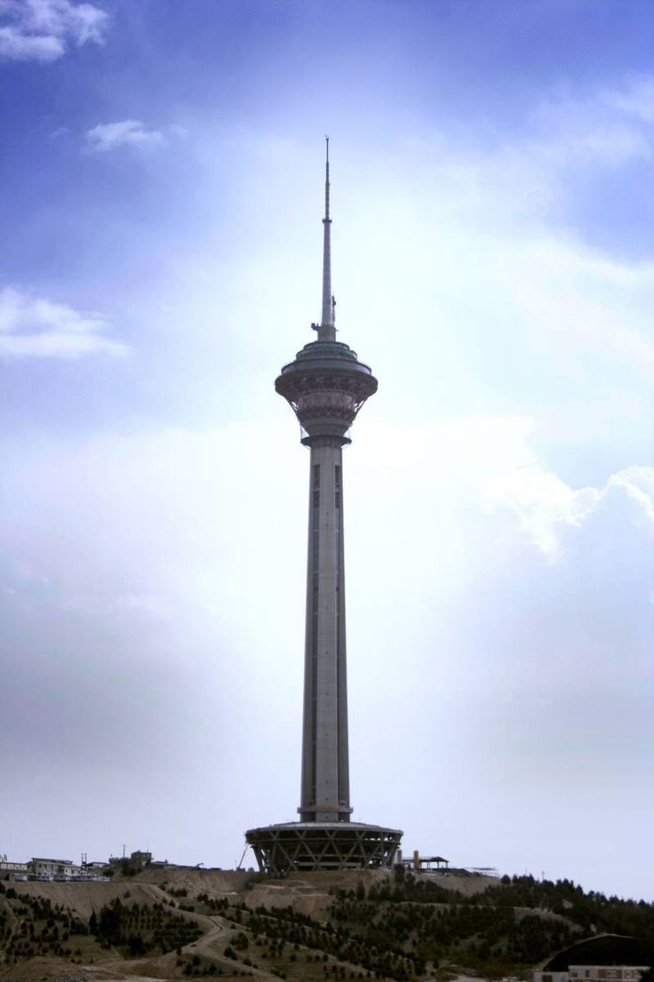 Milad Tower ( Tehran ) http://iranparadise.com/en/gallerygroup/gallery/27