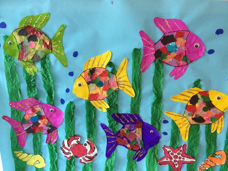 42 best arc en ciel le plus beau poisson des oc ans images - Poisson en maternelle ...