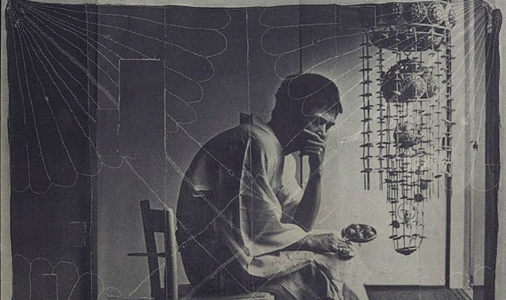 David Noonan Untitled, 2015 silkscreen on linen collage 214 × 229cm (detail)
