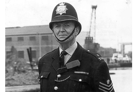 "Dixon of Dock Green ---- This was a popular BBC television series that ran from 1955 to 1976, and was later a radio series. The main character, Police Constable George Dixon, played by Jack Warner, was an old-style British ""bobby"". The character first appeared in a 1950 British film, 'The Blue Lamp', in which he was shot and killed by a criminal. However, it was decided to resurrect him for a television series"