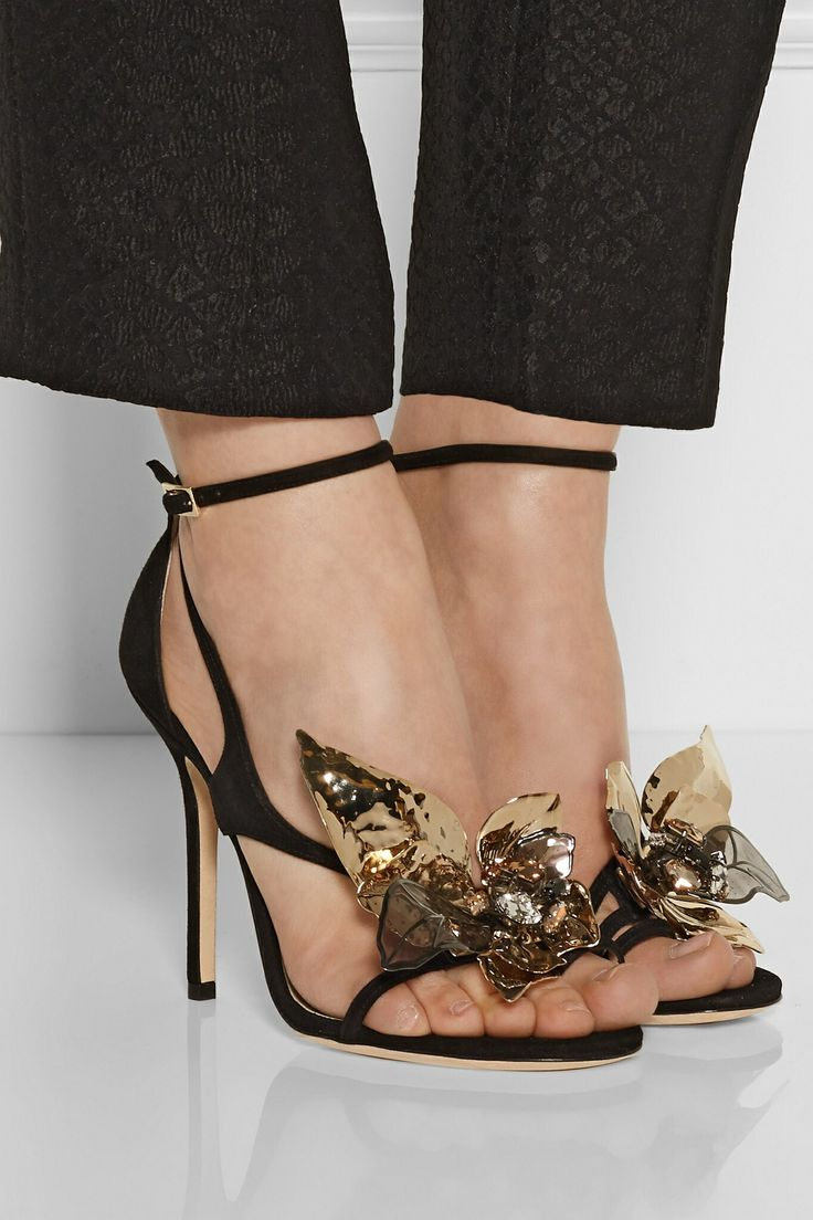 Jimmy Choo Mantle Suede Sandals