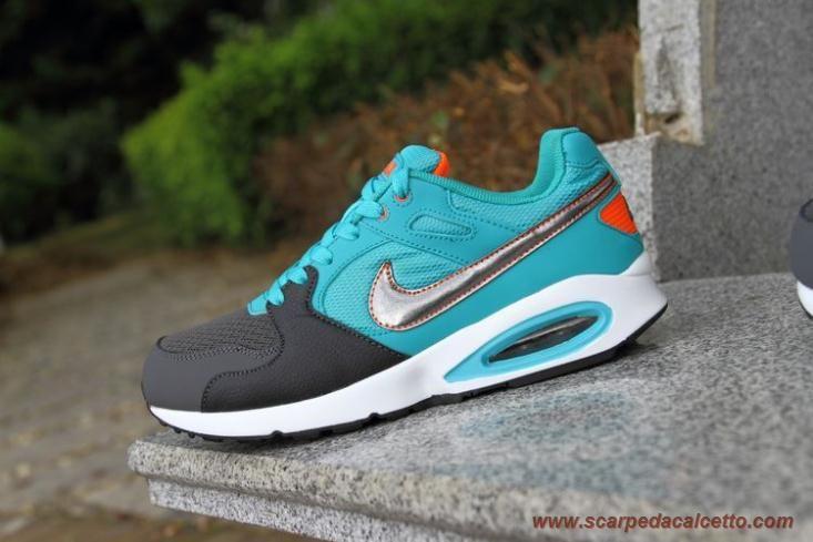 scarpe calcio bambino Nike UK Air Max Coliseum 91 Racer Nero Dark Atomic Verde 5555423-300