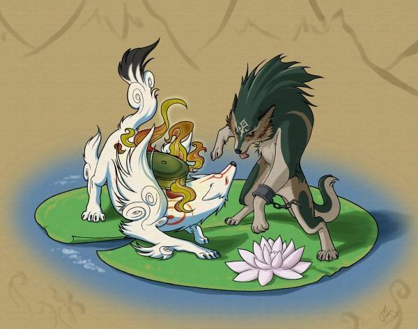 Amaterasu vs Wolf-Link. Who will win? | Fandom | Pinterest ...