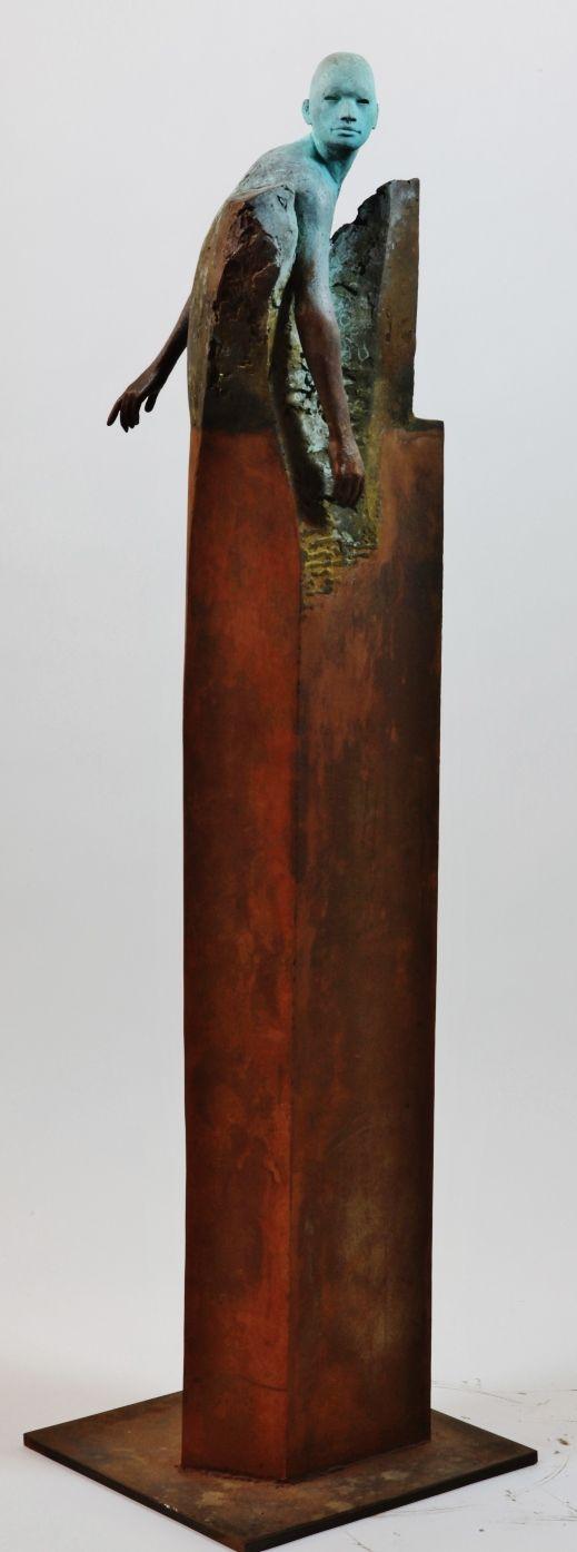 Original bronze sculpture by Jesus Curia Perez - Paris Art Web #bluedivagal…