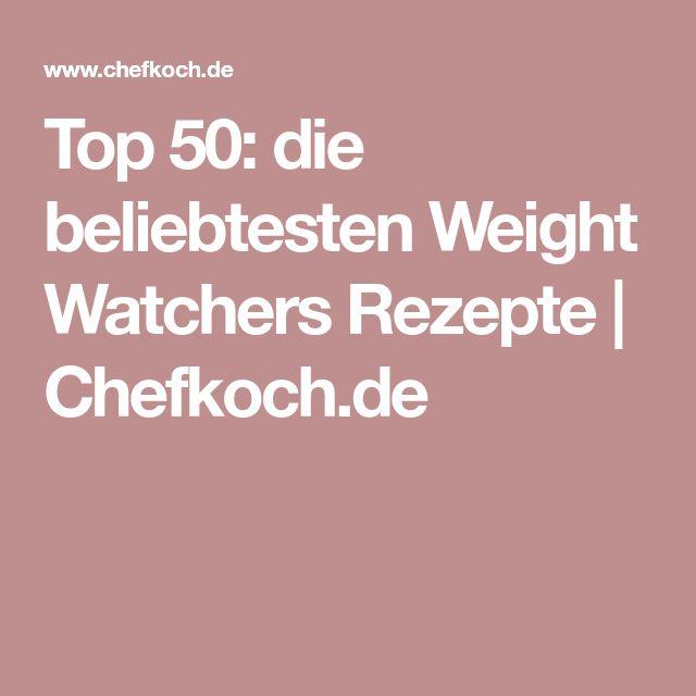 Top 50: die beliebtesten Weight Watchers Rezepte | Chefkoch.de