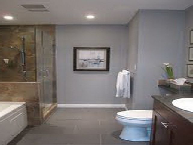 Best 25 grey bathroom tiles ideas on pinterest grey - Bathroom paint colors with gray tile ...